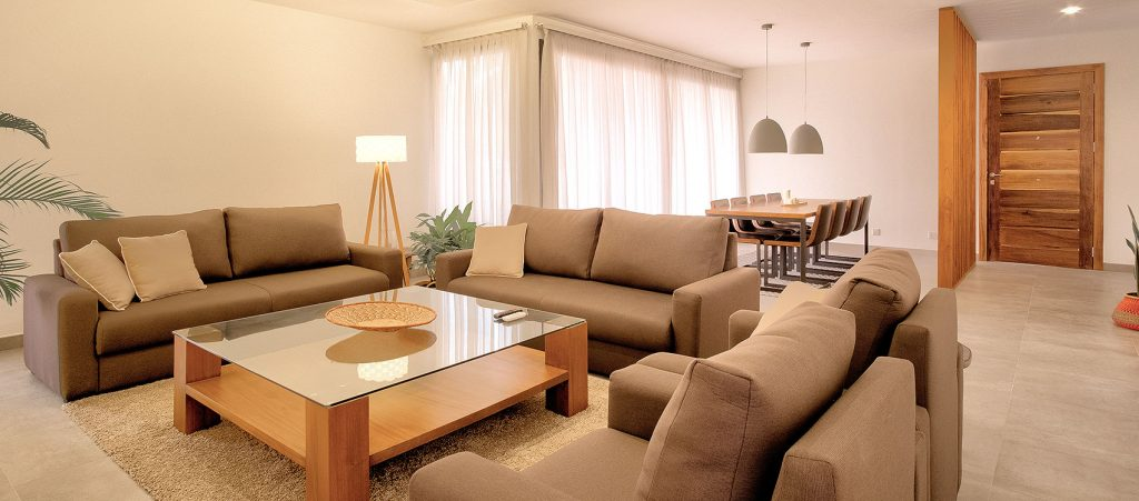 Green Views Apartments - Living Area