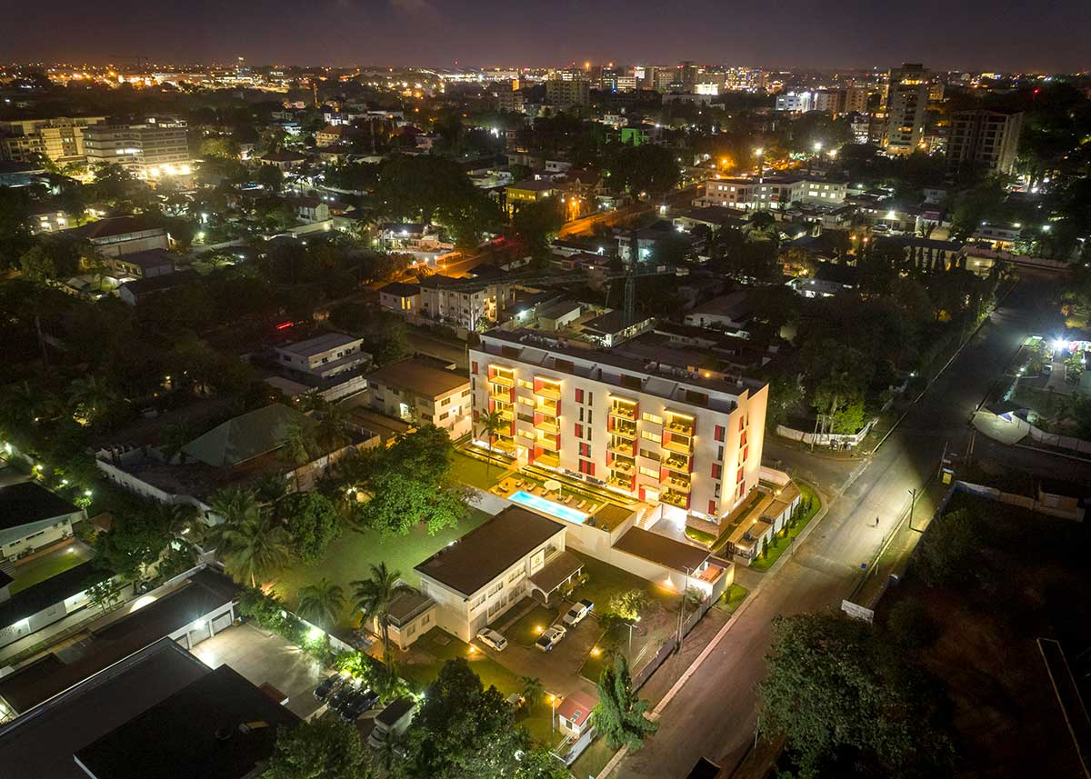 Green Views is located in a great neighborhood in Accra, Ghana