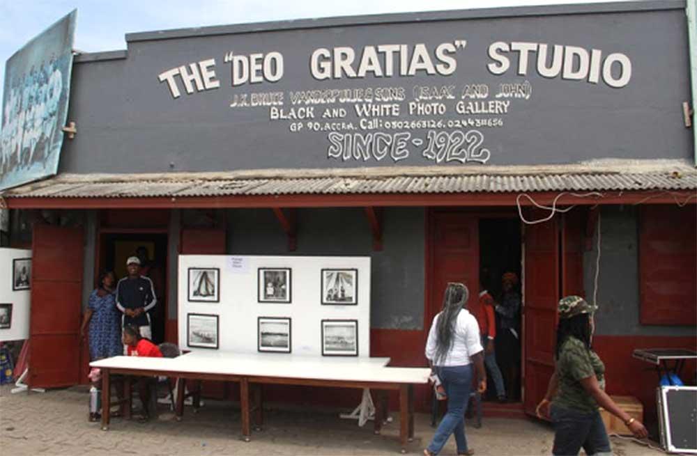 "Deo Gratias Photo Studio, a treasure in the ""ruins"" of Jamestown"